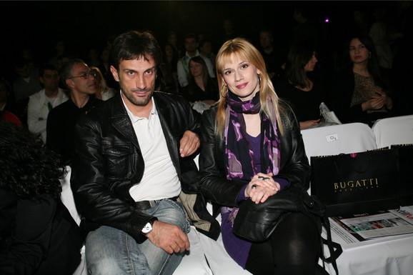 Mina Lazarević sa Goranom Stanićem