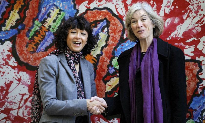 Emmanuelle Charpentier (z lewej) i Jennifer A. Doudna