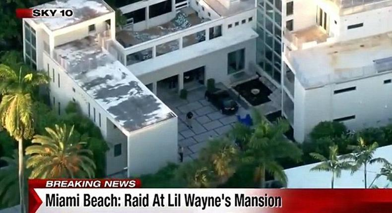 Miami mansion raided, assets seized by Police