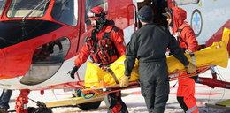 Lawina pod Rysami w Tatrach. Trzy osoby w ciężkim stanie