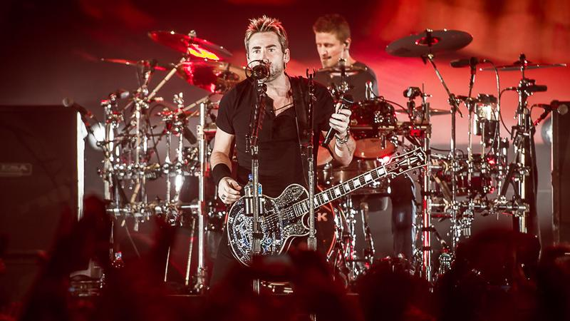 Nickelback na koncercie w Warszawie