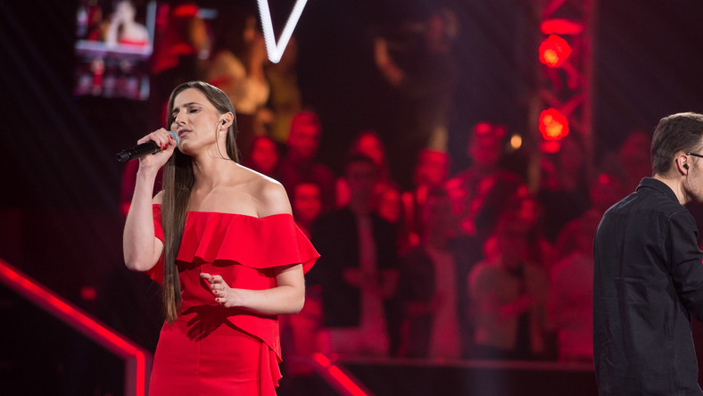 """The Voice of Poland"": Izabela Szafrańska i Tobiasz Fejdasz"
