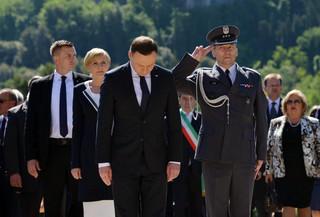 Prezydent Duda: Nie byłoby UE bez przelanej polskiej krwi
