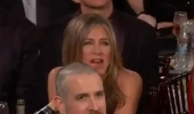 Aniston u publici