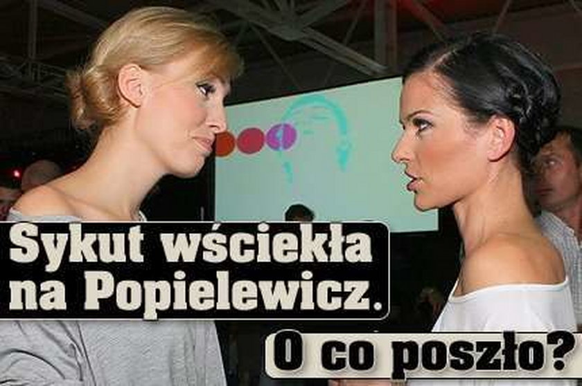 Sykut wściekła na Popielewicz. O co poszło?