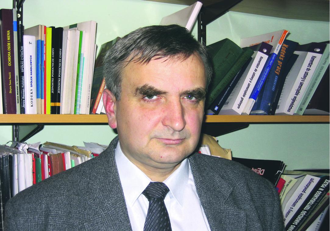 Stefan Płażek, adiunkt na UJ, adwokat