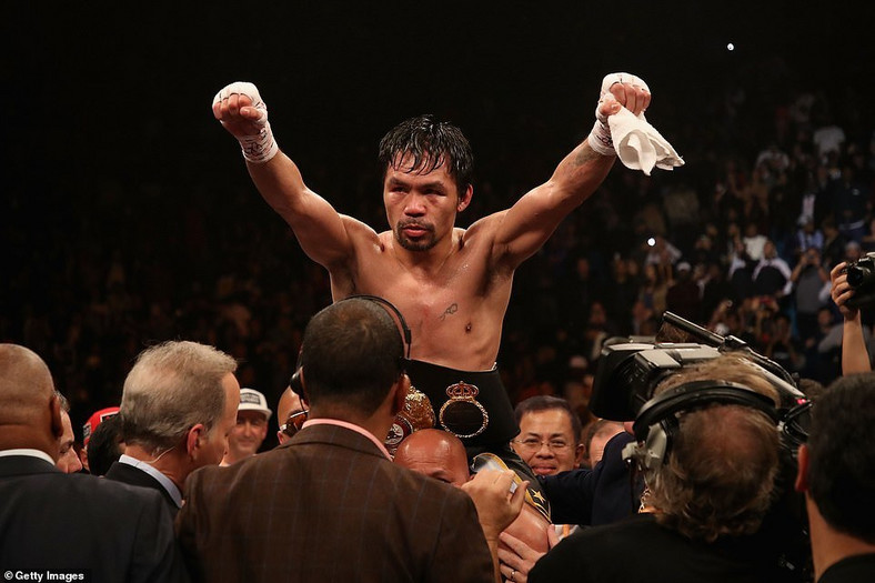 It was a one-sided fight with Manny Pacquiao dominating the fight (Getty Images)