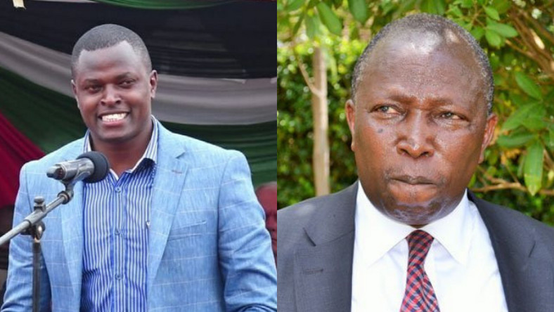 MPs Ndindi Nyoro and Maina Kamanda clashed at a Church fundraiser