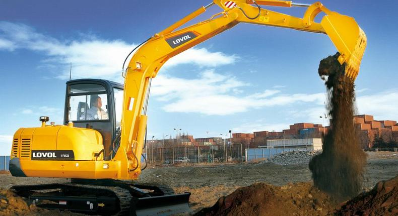 The Ghanaian government has placed a ban on the importation of excavators into the country