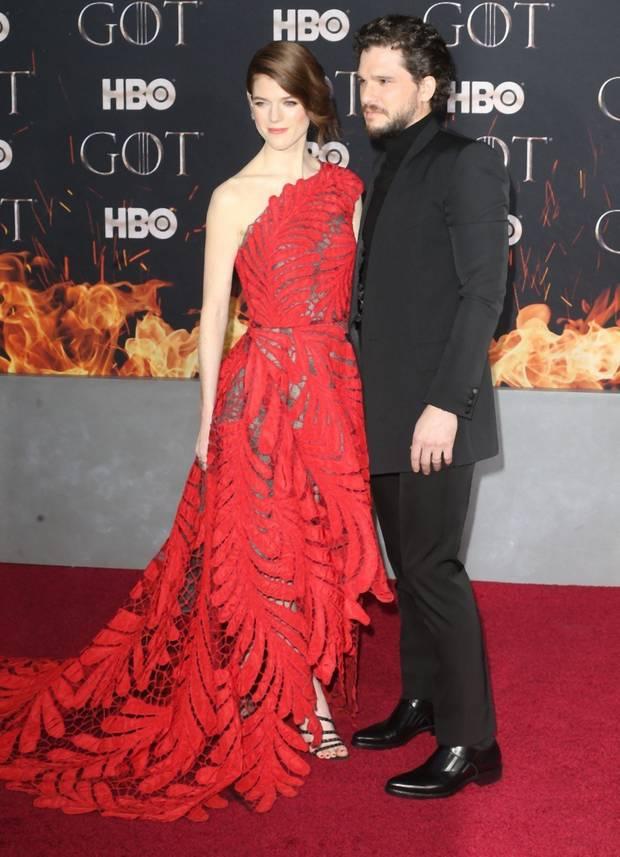 Kit Harington i Rose Leslie izgledali su prekrasno