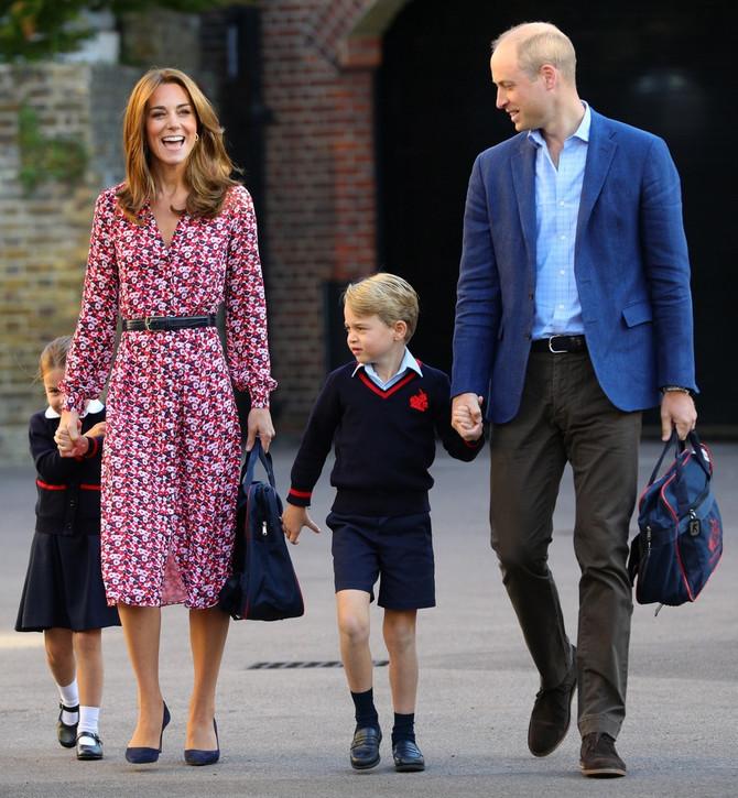 Princeza i princ sa roditeljima
