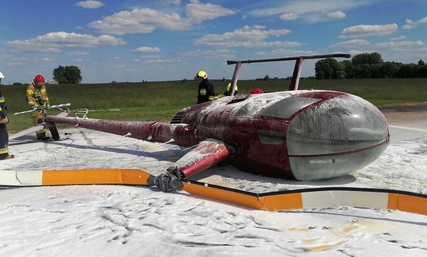 Wypadek śmigłowca w Ułężu