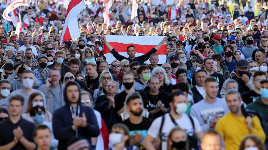 Białoruś: opozycja kontynuuje protesty po wyborach prezydenckich 9 sierpnia