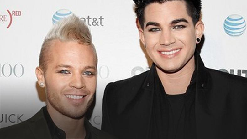 Adam Lambert i Sauli Koskinen (fot. Getty Images)