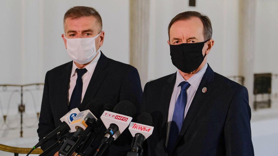 Bartosz Arłukowicz i Tomasz Grodzki