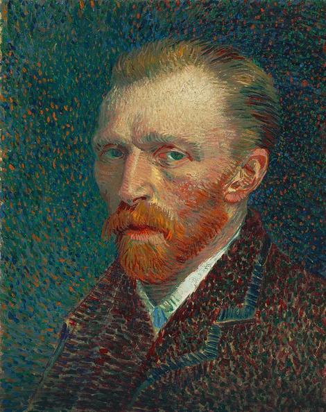Vinsent van Gog, Autoportret, 1887, Umetnički institut Čikago