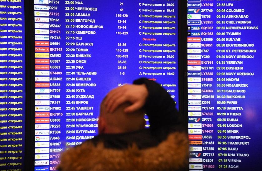 Krewni ofiar katastrofy samolotu na lotnisku w Orsku