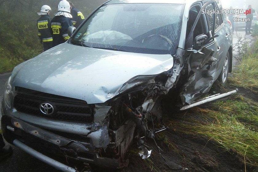 Wypadek w Koniakowie