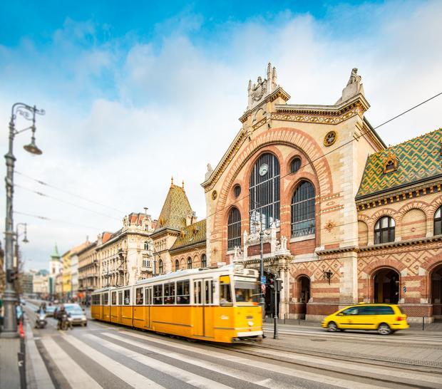 Hala targowa Nagy Vásárcsarnok, Budapeszt