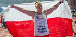 """Joanna Fiodorow ze srebrem w rzucie młotem. """"Medal dedykuję zmarłemu tacie"""""""