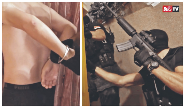 Krijumčari uhapšeni zbog šverca Albanaca