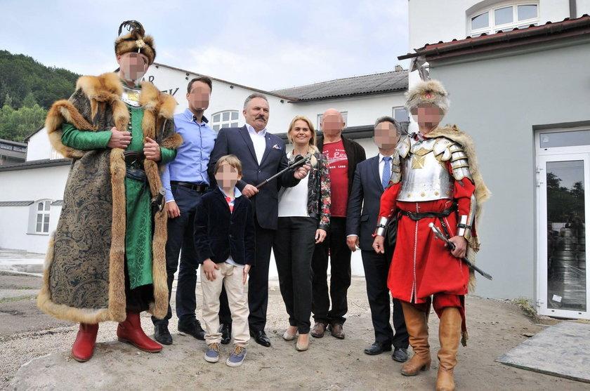 Marek Jakubiak z rodziną