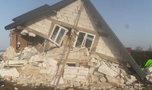 Dramat w Podlaskiem. Dom niemal doszczętnie zniszczony. Trzy osoby ranne