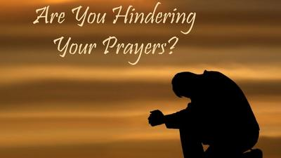 What you need to avoid if you want answered prayers