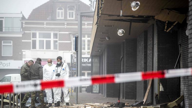 Po wybuchu w supermarkecie w Beverwijk