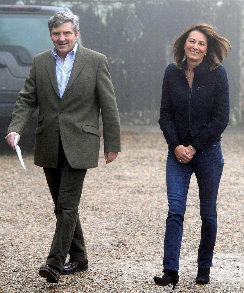 Michael i Carole Middleton