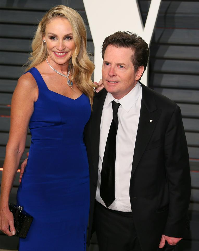 Michael J. Fox i Tracy Pollan