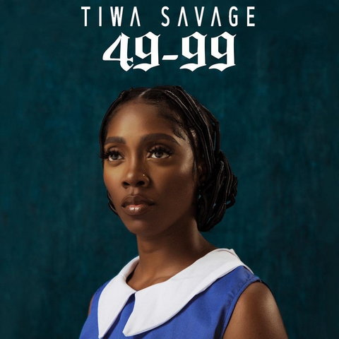 Tiwa Savage released a new single, '49-99' on Thursday, September 5, 2019. (UMG)