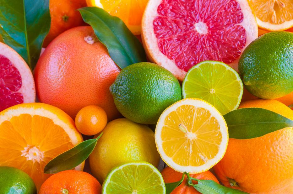 A citrusfélék növelheti a gyomorfekély kialakulását, természetesen csak ha éhgyomorra fogyasztjuk őket / Fotó: Shutterstock