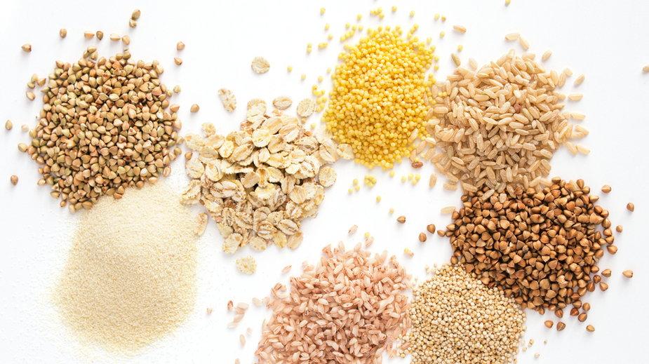 Marakon, kasza, ryż, płatki
