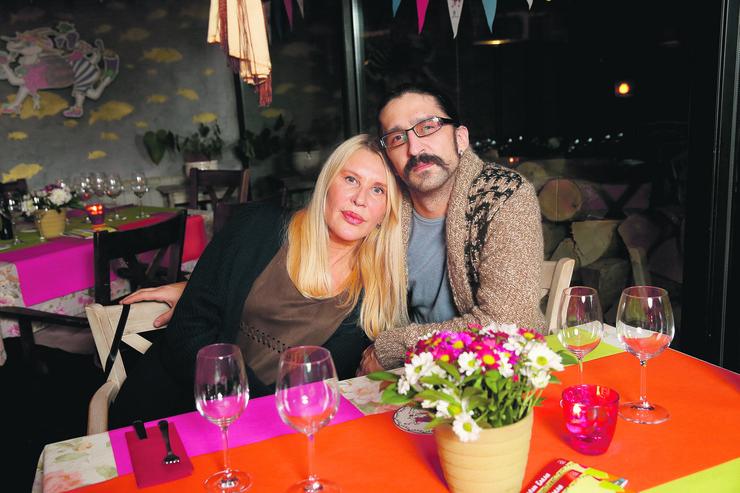 Verica Rakočević sa suprugom Veljkom