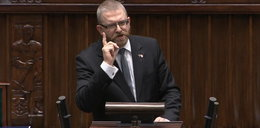 Wpadka Grzegorza Brauna w Sejmie. Posłowie wybuchnęli śmiechem