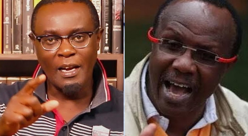 David Ndii has a clinical record of Mental illness – Mutahi Ngunyi