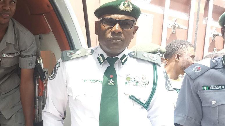 The Customs Area Controller of Apapa Command, Comptroller Mohammed Abba-Kura. [NAN]