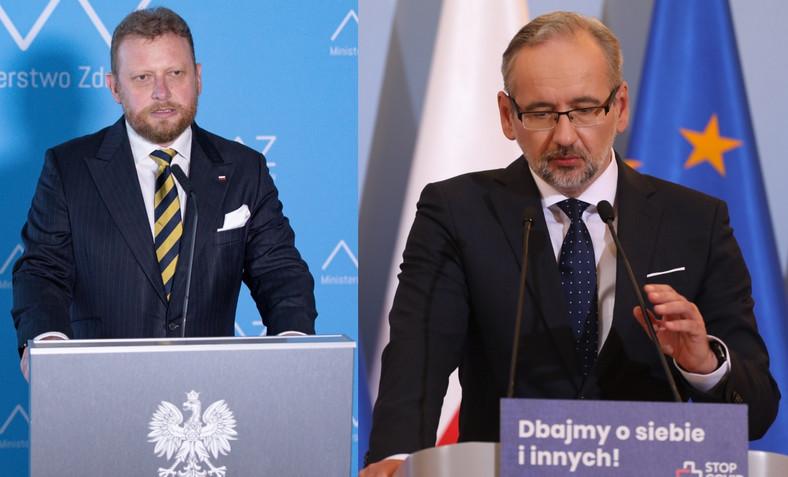 Łukasz Szumowski Adam Niedzielski