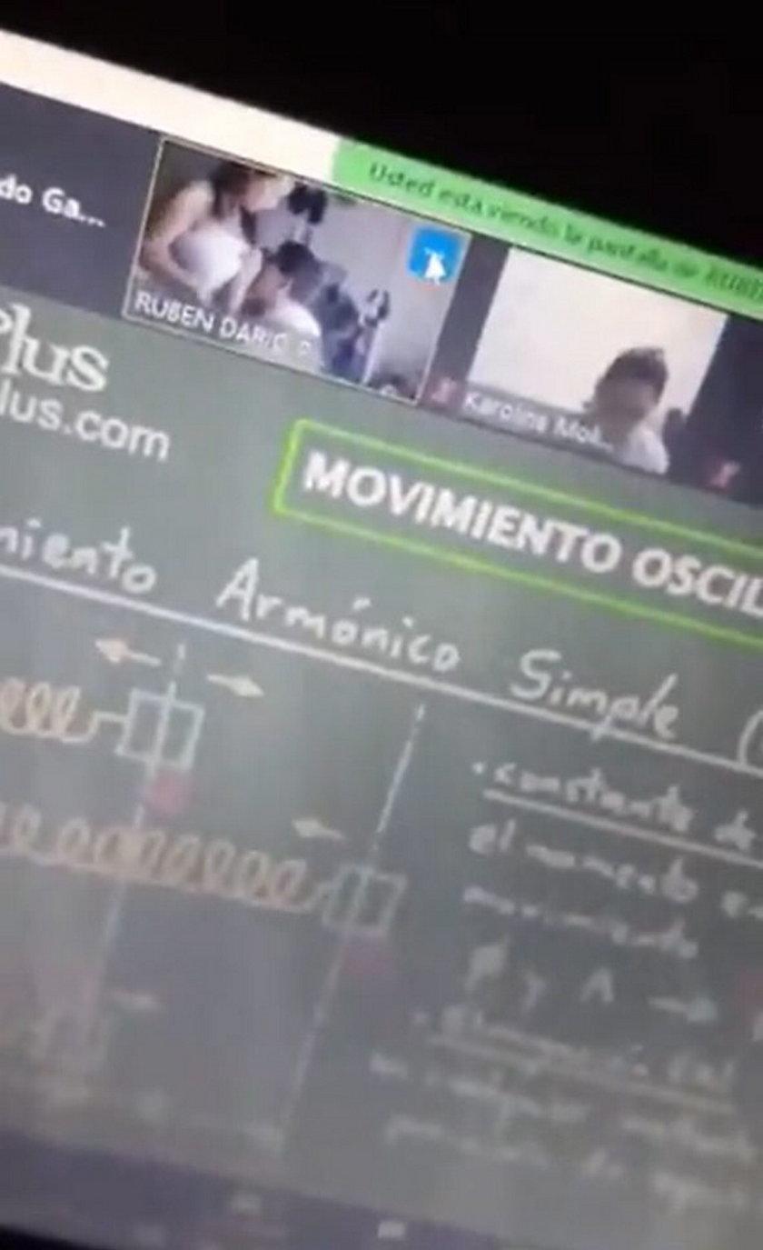 Skandal na e-lekcji w katolickiej szkole. Nauczyciel zabawiał się z żoną na wizji