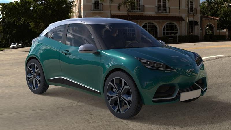 Czy tak będzie wyglądał polski samochód elektryczny?