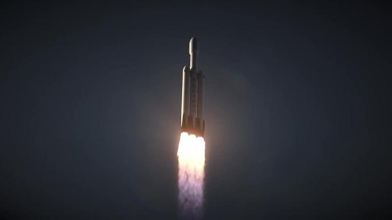 """Falcon Heavy firmy SpaceX - to jego głównym konkurentem ma być """"Korona"""""""