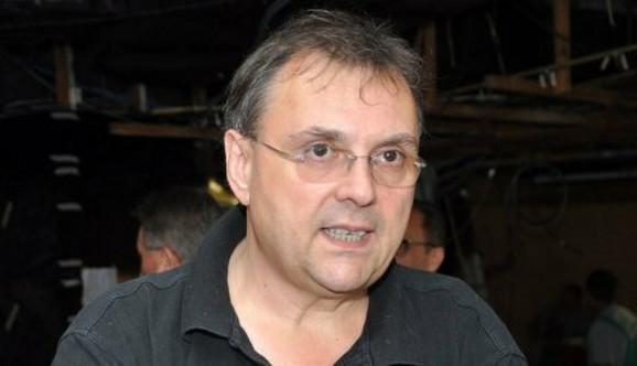 Aleksandar Milosavljević, upravnik Srpskog narodnog pozorišta