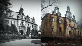 Zmierzch. Pałac w Siedlimowicach