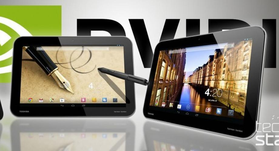 Toshiba Excite: Android-Tablets mit Tegra, Stylus und Full-HD