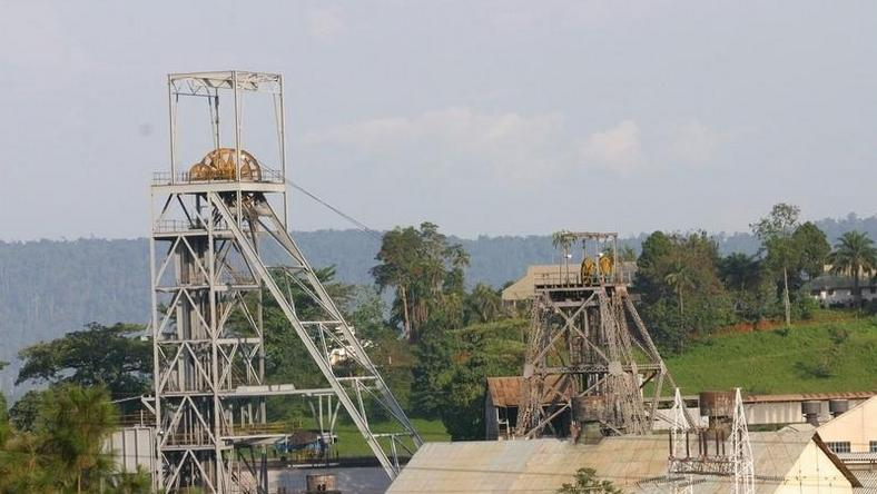 A view of a section of Ashanti Goldfields' big mining complex at Obuasi, in this photo. REUTERS/Luc Gnago/Files