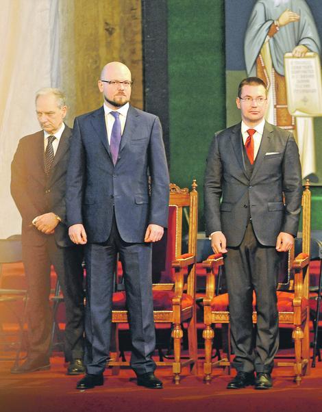 sadašnji i bivši direktor NIS Kiril Tjurdenjev i  Kiril Kravčenko