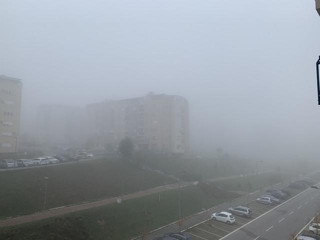Naselje Stepa Stepanović jutros osvanulo je u magli