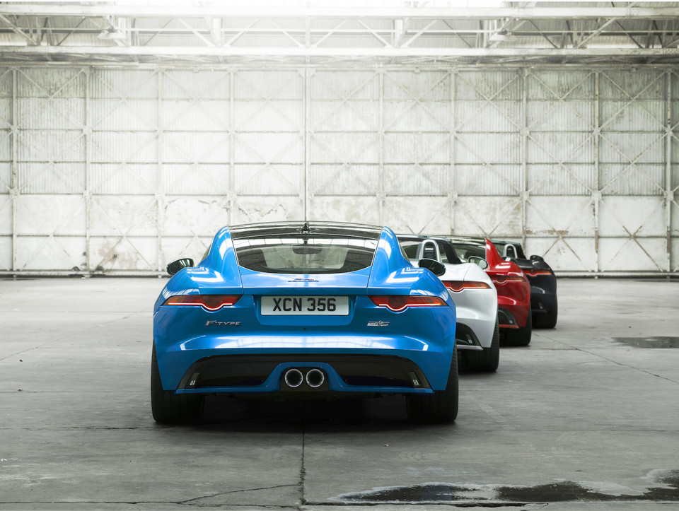 Jaguar F-Type British Design Edition