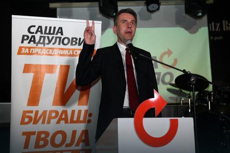 """Saša Radulović lider Pokreta """"Dosta je bilo"""""""